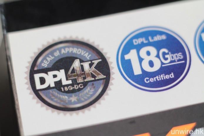 需要作長距離傳輸的話,最好還是選擇標明支援 18Gbps 頻寬的 High Speed HDMI 線材。