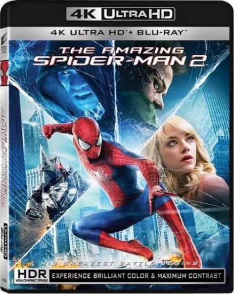 Sony Pictures 已公布的首輪 UHD BD,就只以《蜘蛛俠 2:決戰電魔》較為吸引。