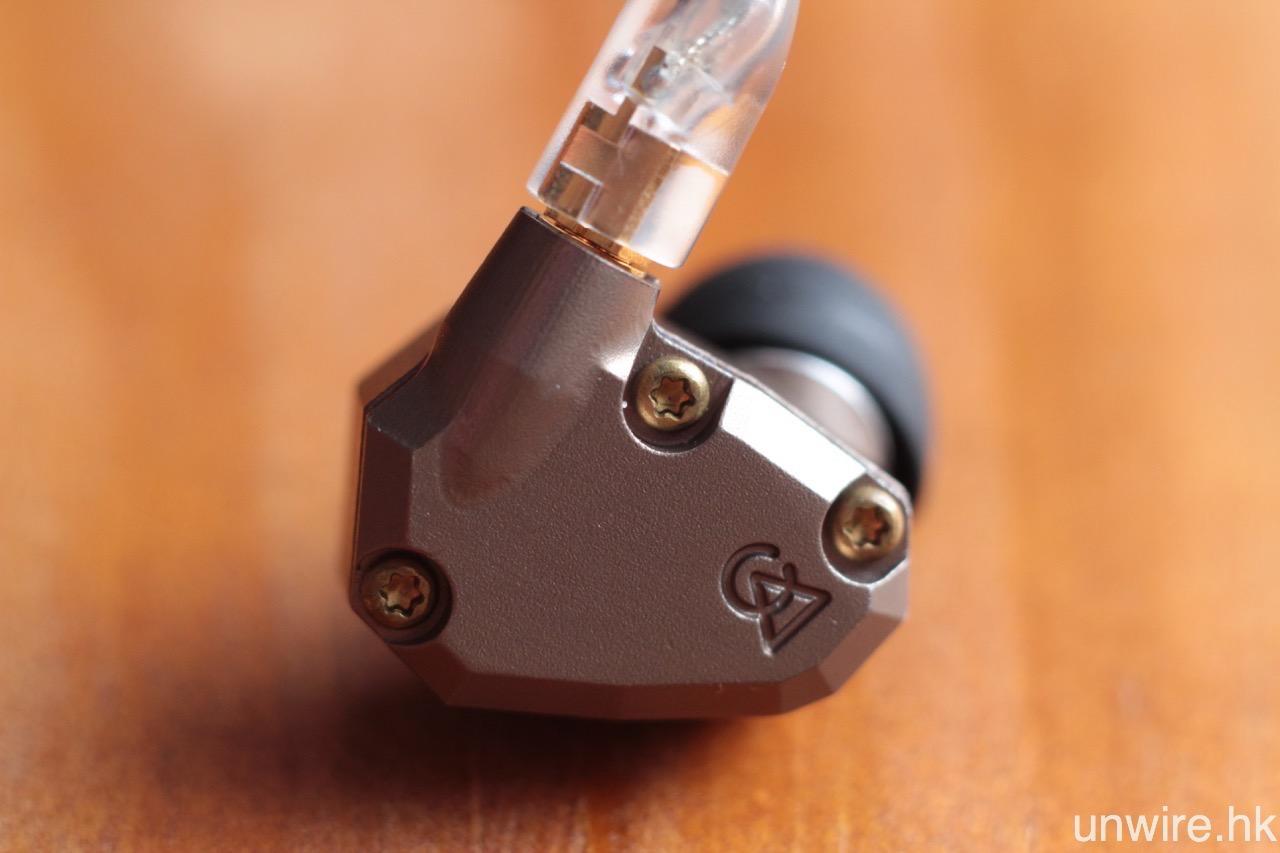 艾域:「鍍鎳機身型格,4 動鐵單元雙開孔設計獨特。」 Campfire Audio Jupiter 入耳式耳機評測 | 香港 unwire.hk 玩生活.樂科技