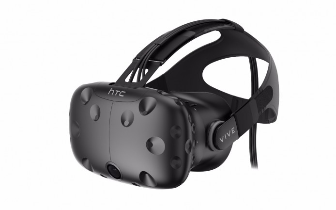 HTC Vive市售版本頭戴式裝置