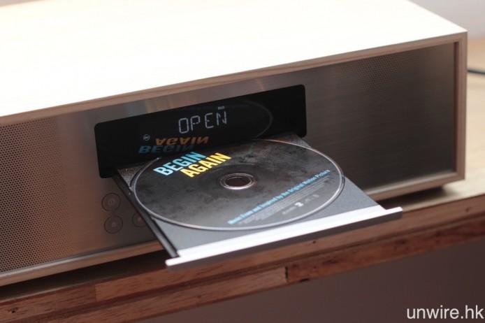 設有 CD 碟盤,若家中擁有大量 CD 庫存就合晒合尺。