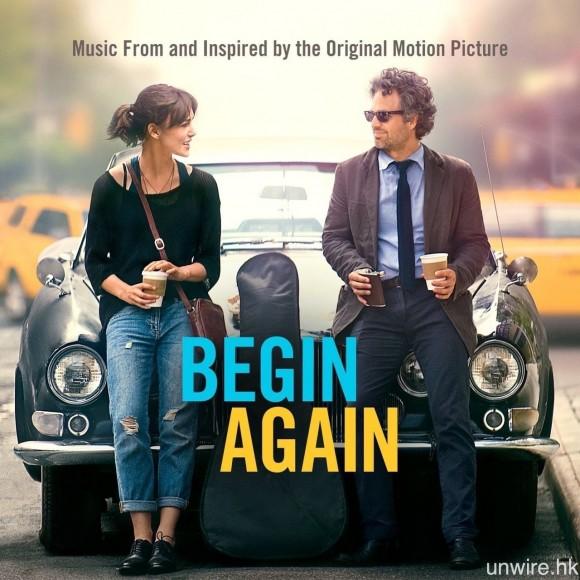 試聽 CD:《Begin Again》電影原聲大碟。
