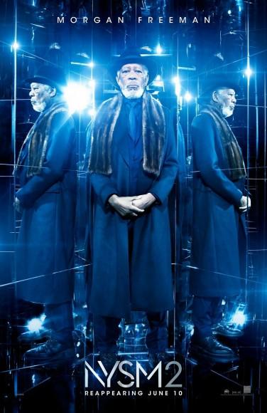 Now-You-See-Me-2-Morgan-Freeman-as-Thaddeus-Bradley-Character-Poster