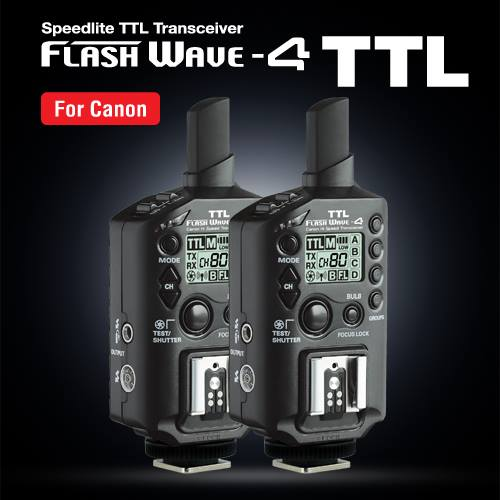 SMDV Flash Wave 4 TTL [for Canon]