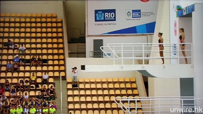 J5 未來 3 日深夜時段 1 時 15 分,則會現場直播兩年一度、假巴西里約熱內盧舉行的 FINA 跳水世界盃,又有追捧中國跳水隊的機會了(又好似係)。