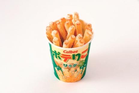 日本人氣No.1的Poterico原味薯條