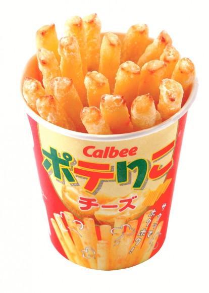 日本人氣No.1的Poterico芝士味薯條