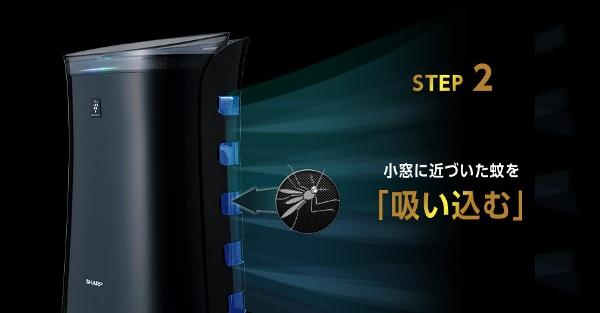 二合一功能超實用!Sharp 推出全球首部「空氣清蚊機」