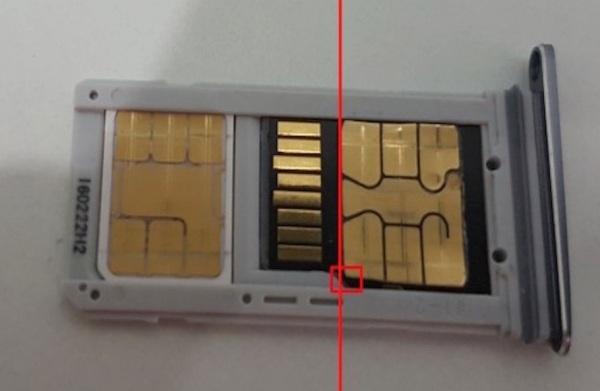 5. 最後將 microSD 卡插入卡槽內便大功告成