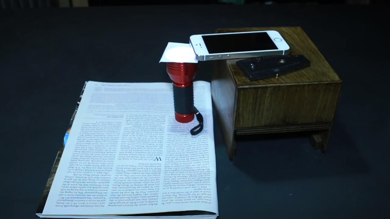 DIY 教學在家自製智能手機顯微鏡