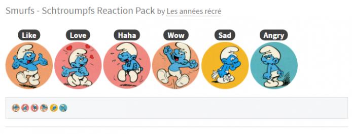 2016-03-17 18_16_25-Smurfs - Schtroumpfs Reactions for Facebook