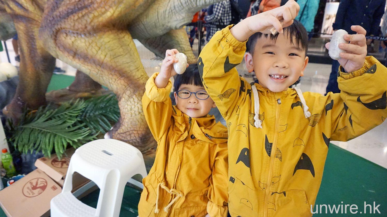 軒軒 + 杰杰試玩「恐龍歷險之旅 」主題樂園 7大親子遊戲