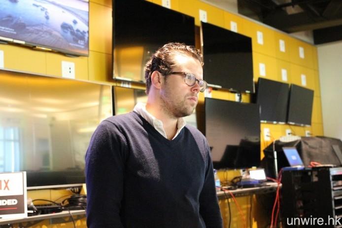 產品開發主管 Brady Gunderson。