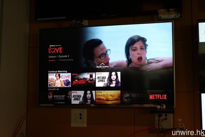 與及 LG 的 webOS 3.0 4K UHD TV,均已率先取獲《Netflix Recommended TV》認證。