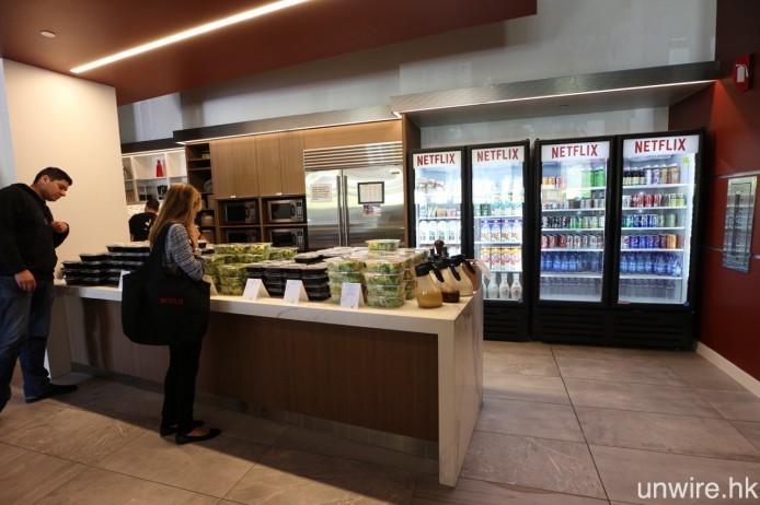 提供免費膳食及各式各樣飲品,也屬美國科技公司的常見情況。
