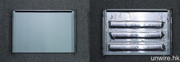 除碟盤頂部之外,SE 版(右)的機殼頂蓋內部亦加入了 3 條工業橡膠長條,加強抑震。