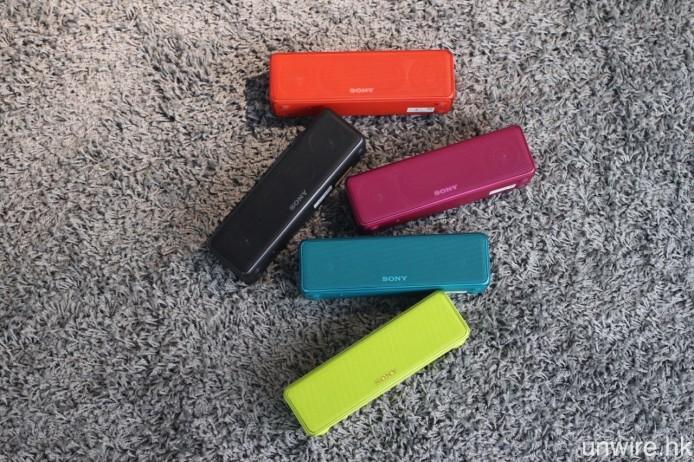 與兩款無線耳機一樣,h.ear go 亦將設有圖中的 5 種顏色選擇。