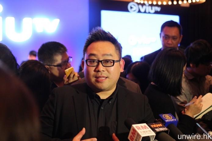 ViuTV 總經理魯庭暉表示,4 月 6 日正式啟播時,ViuTV 的訊號絕對能夠覆蓋全港。