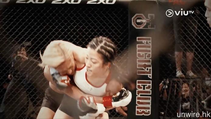 週末則會有全女班 MMA 真人格鬥節目《G1 格鬥會》,看 片花已覺得拳拳到肉。