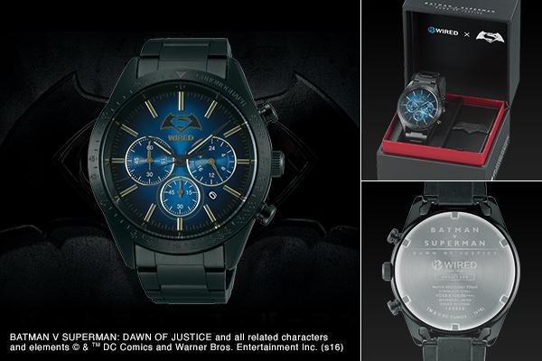 WIRED x BATMAN v SUPERMAN DAWN OF JUSTICE 限量版男士腕錶 (2)