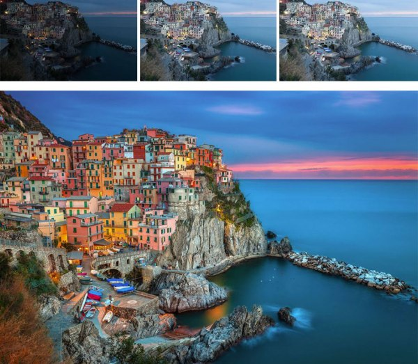 利用 Photoshop 手動 HDR 合成,再以 Nik Color Efex Pro 作後期製作