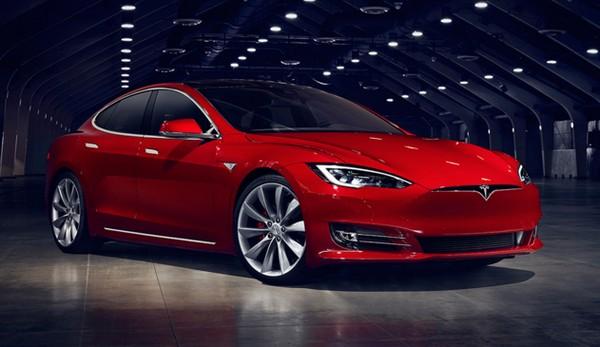 新版本 Model S 外型