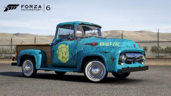 之前另一部 Fallout 車輛 1956 Ford F100