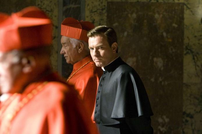 Ewan McGregor in Columbia Pictures' suspense thriller ANGELS & DEMONS, starring Tom Hanks.