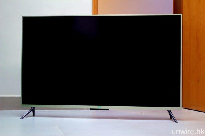 小米電視 3S 的 43 吋及 48 吋(圖)全高清型號,亦已在港有售。
