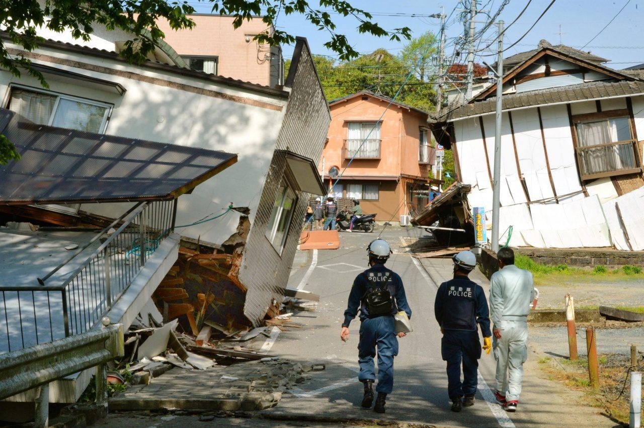 日本電子及汽車廠商因熊本地震暫停部分生產