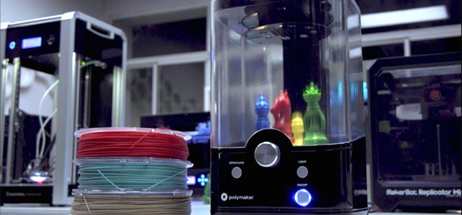 最新 3D 打印物料技術 成品「冷立立」如打磨 - PolySmooth
