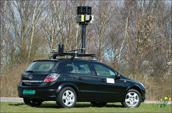 正常 Google 街景車其中一種外型