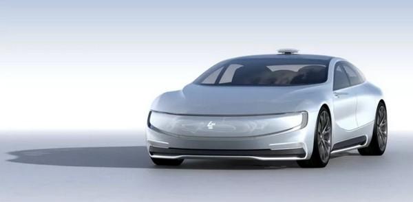 樂視早前發表的電動超級跑車 LeSEE