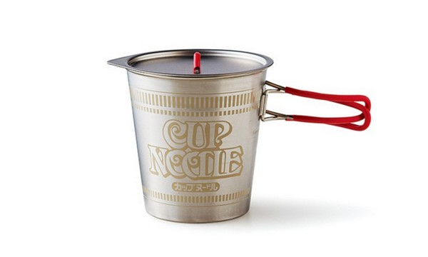 【型爆必搶】限量 350 個!日清杯麵型金屬煲專為露營人士而設