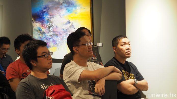 出席的 Wire 民對當下 HDR 技術及 LG OLED TV 均甚感興趣,不斷詢問相關問題,以進一步了解箇中詳情。