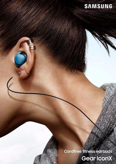 可獨立儲存歌曲!Samsung 發表 Gear IconX「真‧無線藍牙耳機」