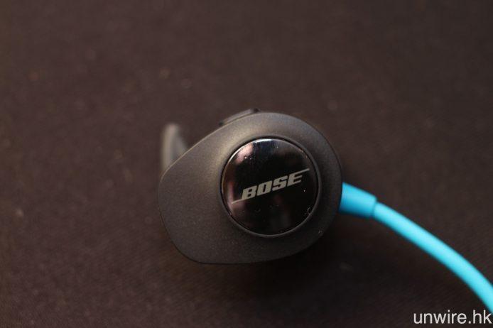 雖則 SoundSport Wireless 的機身體積頗大,但親身試戴卻不會有累贅感,大力搖頭亦不會意外掉落。