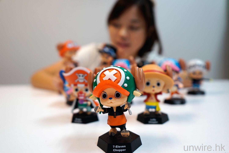 《One Piece 海賊王》 x 7-Eleven!馴鹿路飛、毛皮 CHOPPER 實物超萌