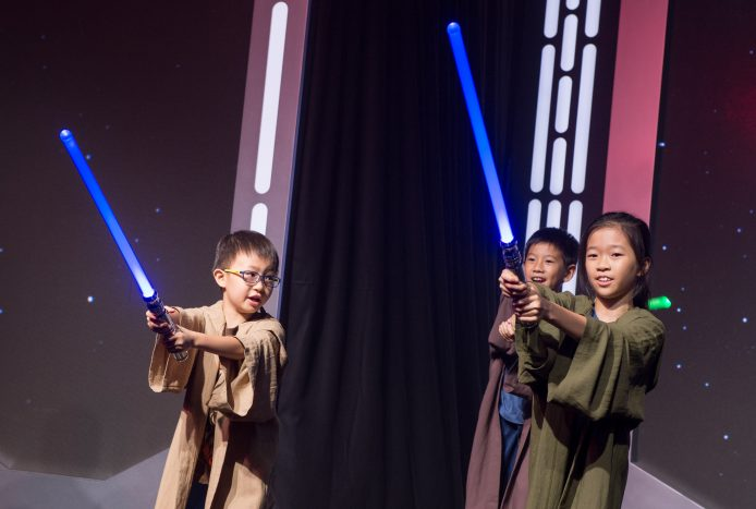 Hong Kong Disneyland_Star Wars Tomorrowland Takeover Ceremony_Jedi Kids 2
