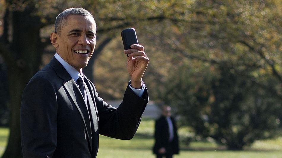 繼續受限制!奧巴馬終於換電話仍感不滿