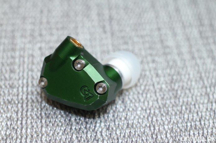森綠色鋁殼實在十分獨特討好。