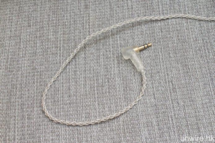 隨機附送全新的 4 芯導銀銅絞合接線 Litz Cable,線身以抗氧化醫療級 PVC 膠套保護。
