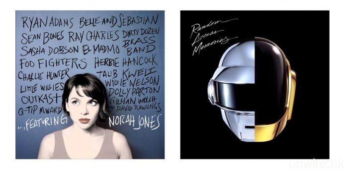 試聽歌曲:Norah Jones《Ruler Of My Heart》16bit/44.1kHz ALAC、Daft Punk feat. Julian Casablancas 的《Instant Crush》24bit/88.2kHz FLAC。