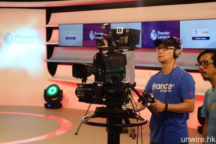 廠房內以 Ikegami HDK-79GX 攝影主機配以 Canon HDTV 鏡頭作主力攝影器材。