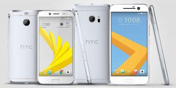HTC Bolt(左)及 HTC 10(右)
