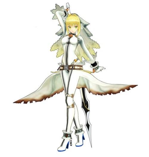 尼祿‧克勞狄烏斯服裝「束縛的新娘服裝」