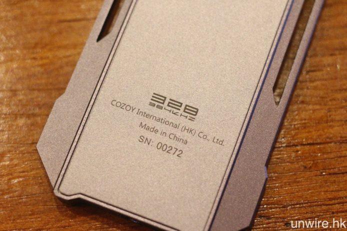 最高支援 32bit/384kHz PCM 及 11.2MHz DSD 硬解。