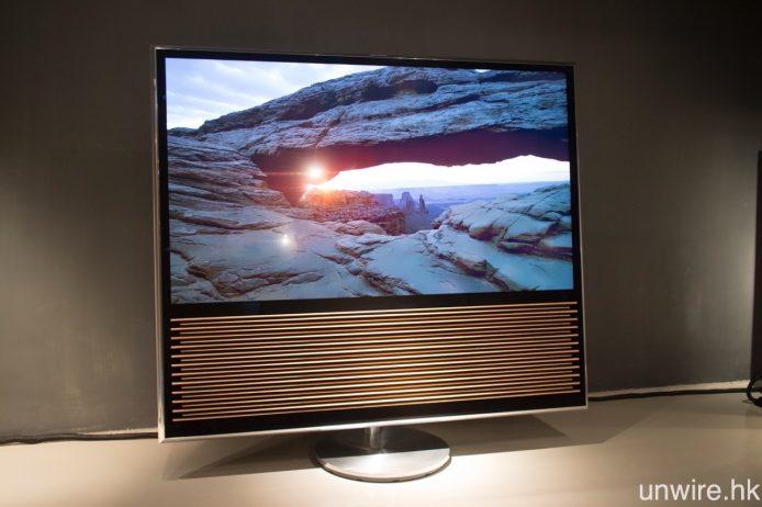 B&O 全新電視 BeoVision 14,首度搭載 Android TV 智能電視系統。