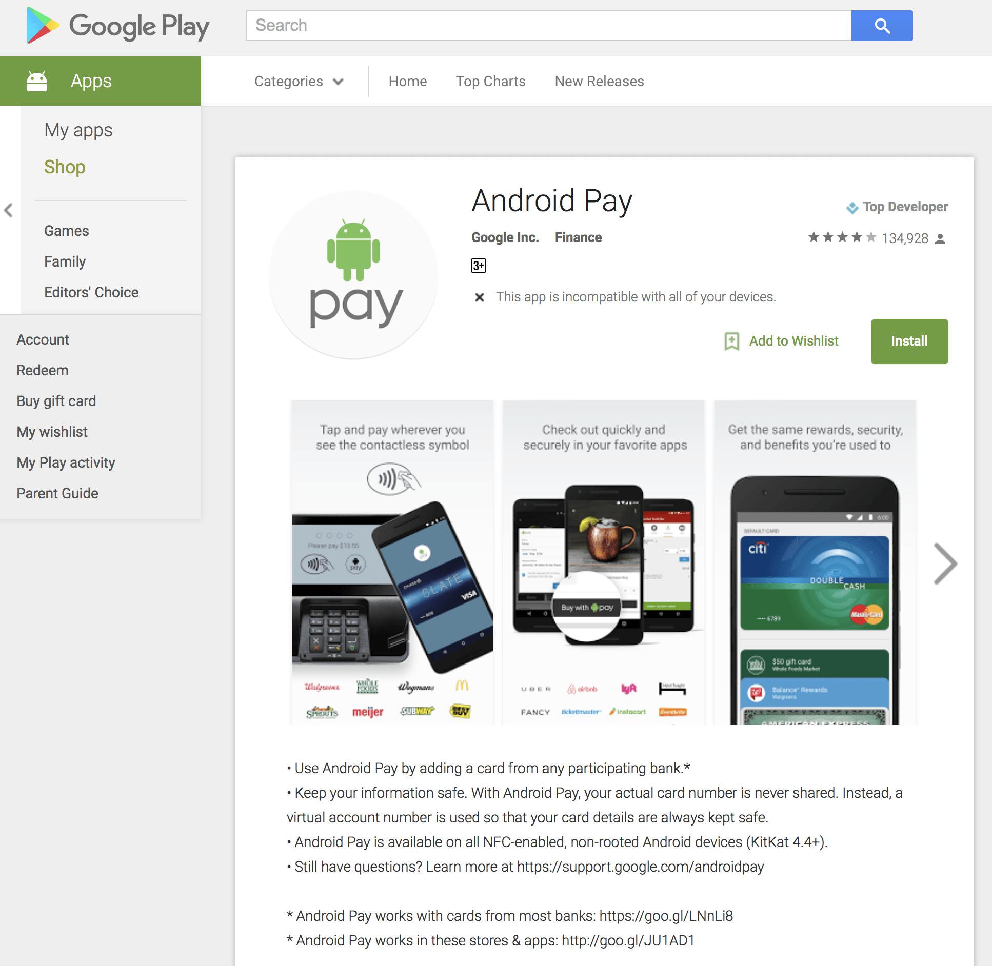香港 Android Pay HK 啟用 ! 一文看盡 信用咭 + 商店 +手機 及常見問題 FAQ 懶人包
