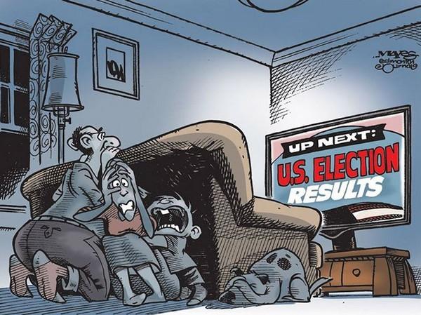 美國總統大選結果變成恐怖片?